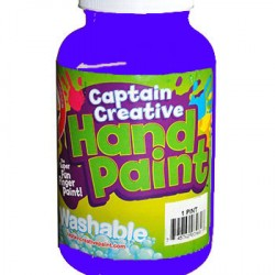PAINT CAPTAIN CREATIVE WASHABLE HAND PAINT 16 oz Blue