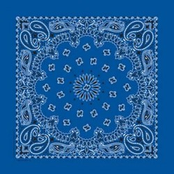 BANDANNA PAISLEY ROYAL