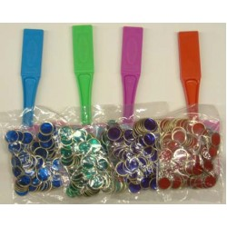 MAGNETIC WAND W/ 100 COUNTING / BINGO CHIPS GREEN