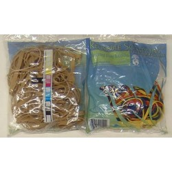 RUBBER BANDS ALLIANCE BRAND USA ASSORTED SIZE  NATURAL  2oz
