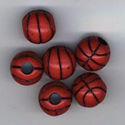 BEAD TEAM SPORTS 12mm 12ct BASKETBALLS