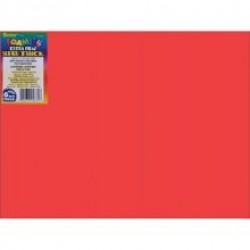 "FOAM SHEETS FOAMIES 2mm 9"" X 12"" RED"