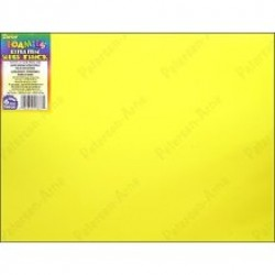 "FOAM SHEETS FOAMIES 2mm 9"" X 12"" YELLOW"