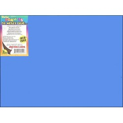 FOAM SHEETS 9X12 FOAMIES SELF-ADHESIVE ROYAL BLUE 10CT