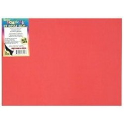 FOAM SHEETS 9X12 FOAMIES SELF-ADHESIVE RED 10CT