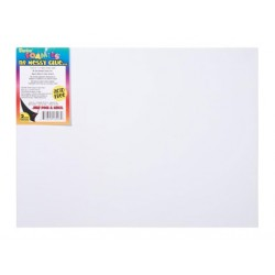 FOAM SHEETS 9X12 FOAMIES SELF-ADHESIVE WHITE 10CT