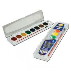 PAINT WATERCOLOR WASHABLE PRANG   8CT