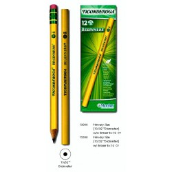 PENCIL DIXON TICONDEROGA BEGINNER NO ERASER