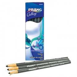 CHARCOAL PENCIL HARD 12 CT