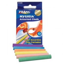 CHALK  PRANG HYGIEA ASST COLORS 12ct