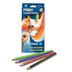 "PENCIL COLORING PRANG  7"" 12 COLOR"