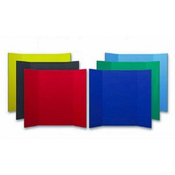 "PRESENTATION BOARD 3 FOLD 36"" X 48"" 1 PLY RED  24/CASE"