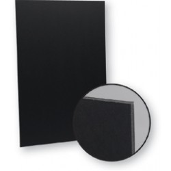"FOAM BOARD BLACK 20"" X 30"""