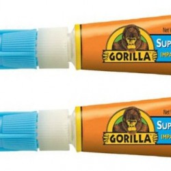 GLUE GORILLA SUPER GLUE 2pk.  0.11oz. Ea.