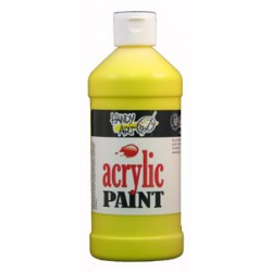 PAINT ACRYLIC HANDY ART STUDENT 16 oz CHROME YELLOW