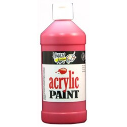PAINT ACRYLIC HANDY ART STUDENT 16 oz BRITE RED