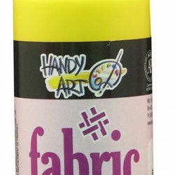 PAINT FABRIC HANDY ART 4 oz CANARY YELLOW