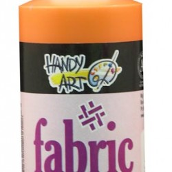PAINT FABRIC HANDY ART 4 oz CHROME ORANGE