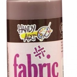 PAINT FABRIC HANDY ART 4 oz CHOCOLATE BROWN