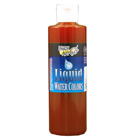 PAINT LIQUID WATERCOLORS HANDY ART 8oz  ORANGE