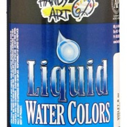 PAINT LIQUID WATERCOLORS HANDY ART 8oz  VIOLET