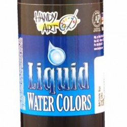 PAINT LIQUID WATERCOLORS HANDY ART 8oz  BROWN