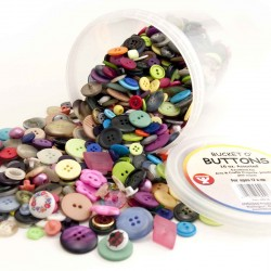 BUTTONS ASSORTED 16oz IN TUB