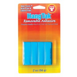 HANGTAK REMOVABLE ADHESIVE  BLUE POSTER PUTTY 2oz.
