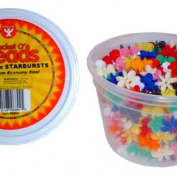 BEAD STARBURST             18mm IN CONVIENIENT TUB   300ct.