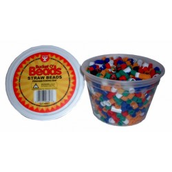 BEADS STRAW                      IN CONVIENIENT TUB  1000ct.