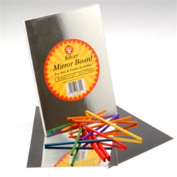 MIRROR BOARD 8.5 X 11 10 ct.