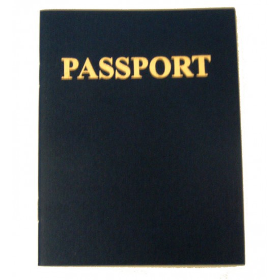 "PASSPORT BOOK 4 1/4"" X 5 1/2"" 24 PAGES"
