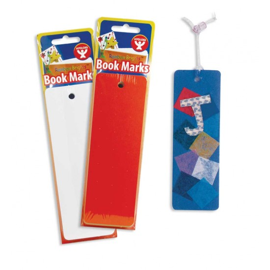 BOOKMARK BRIGHT MARKS 7 COLORS HOLE DRILLED 35 CT
