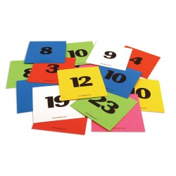 """CALENDAR CARDS 3""""X3""""  NUMBERED  1-31 + 5 BLANK CARDS"""