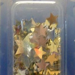 SHIMMERING STARS 1/2oz. GOLD AND SILVER