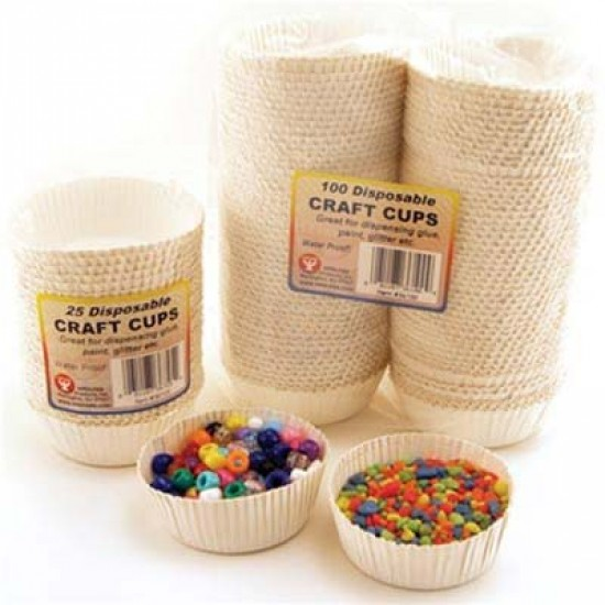 CRAFT CUPS 25ct.
