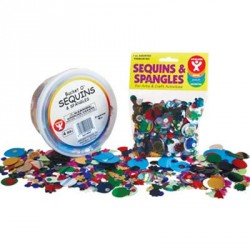 SEQUINS AND SPANGLES 4 oz.
