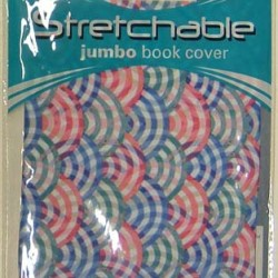 BOOKCOVERS STRETCHABLE JUMBO ASSORTED PRINTS KITTRICH BRAND