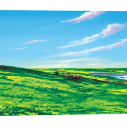 """FELT BOARDS SMALL MEADOW AND SKY 16"""" X 24"""""""