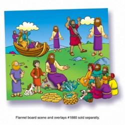 FELT& FLANNEL BOARD MATERIALS MIRACLES OF JESUS