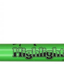 HIGHLIGHTERS CHISEL TIP LIQUIMARK 12 ct Lt. Green