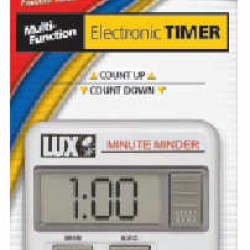 TIMER MULTIFUNCTION ELECTRONIC COUNT UP-DOWN  by LUX