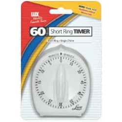 TIMER CLASSIC WIND-UP LONG RING WHITE