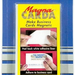 MAGNACARDA BUSINESS CARD MAGNETS 25 ct