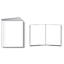 BARE-BOOKS 6.375 X 8.125  SMALL 28 PAGES