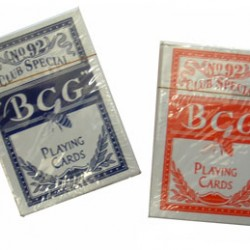 PLAYING CARDS  IMPORT BCG CLUB SPECIAL