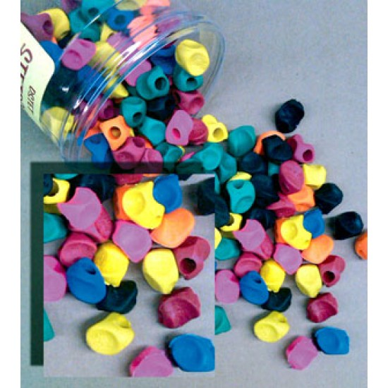 PENCIL GRIP STETRO GRIPS Assorted  144/ TUB