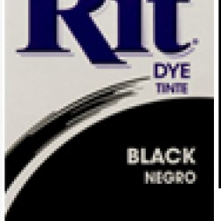 DYE RIT POWDER 1-1/8 oz. BLACK