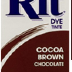 DYE RIT POWDER 1-1/8 oz. COCOA BROWN