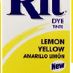 DYE RIT POWDER 1-1/8 oz. YELLOW